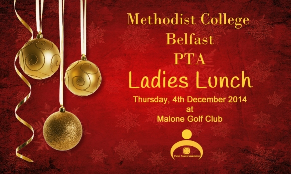 Ladies Lunch 2014 - Advert